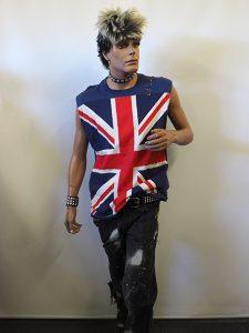Men's punk costume