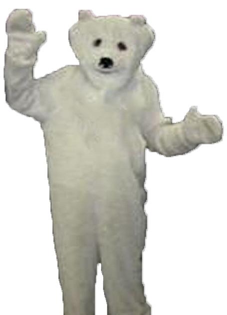 Polar bear/Bundy bear costume