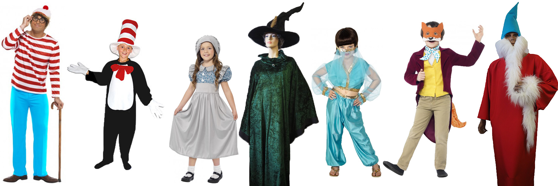 Book week costumes for teachers and students