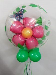 Double bubble flower bouquet