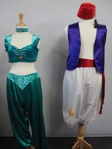 Jasmine & Aladdin costumes