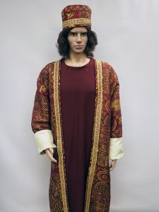 Red Wise man or Three Kings costume