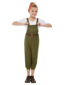 Girl's farmer costume