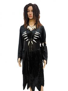 Voodoo Priestess Witch Doctor costume