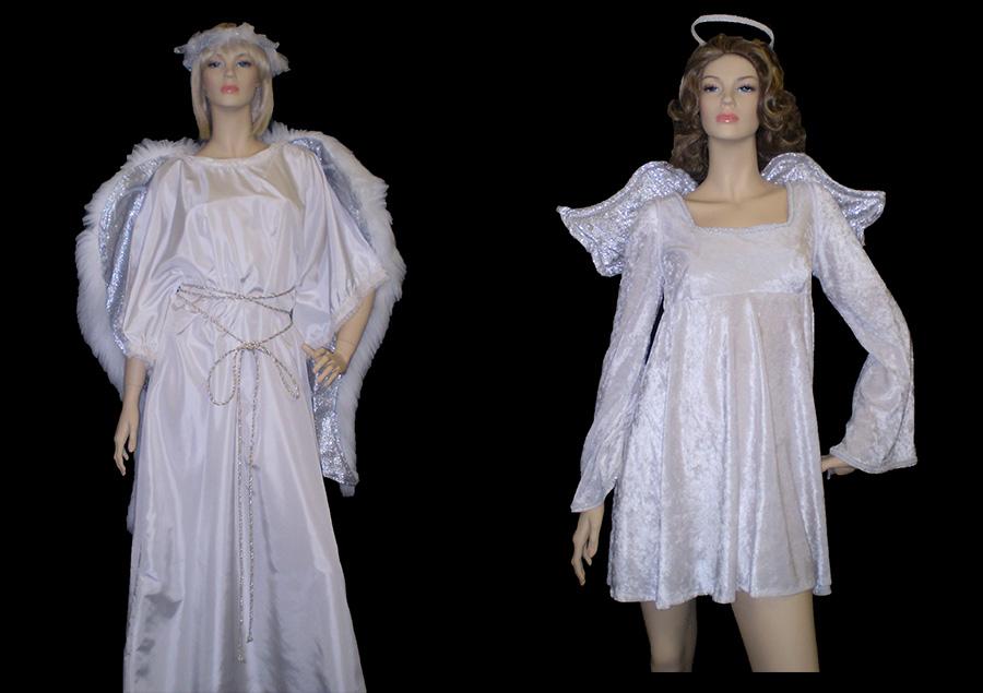 Long & short Angel costumes