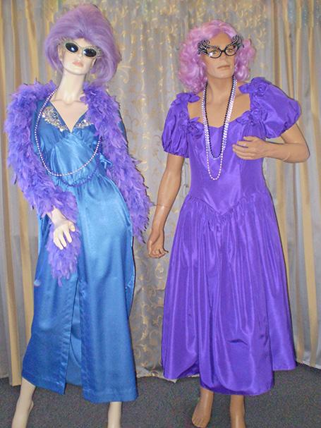 Dame Edna costumes
