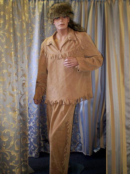 Daniel Boone Western costume
