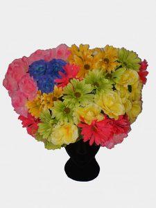 Priscilla style floral headpiece
