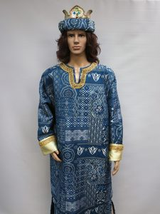 Blue Wise man costume
