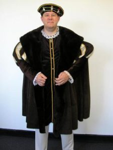 Henry VIII costume, King costume. Great men's plus size costume
