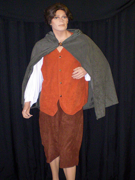 Frodo costume from Lord of the Rings