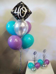 40th-birthday-balloon-bouquet