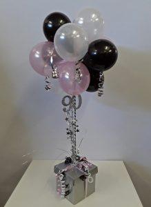 Balloon table decorations