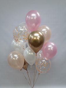 Mixed helium balloons