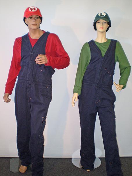 Mario Bros costumes