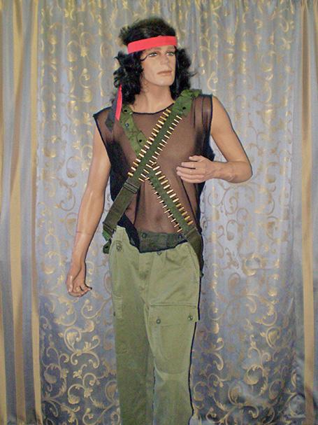 Rambo costume