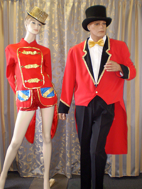 Ringmaster outfits for males & females