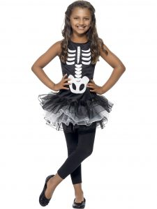 Child's skeleton tutu