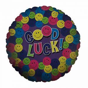 Good Luck smiley balloon