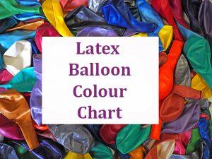 latex balloon colour link