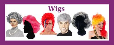 Wig shop selection