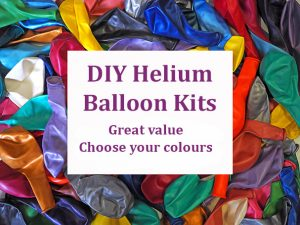 Helium balloon kits